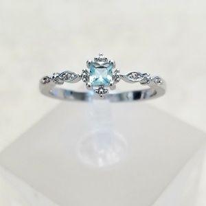 Delicate Topaz Ring
